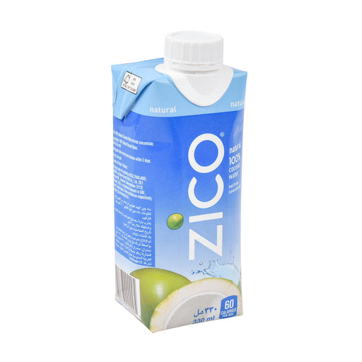 Zico Natural 100% Coconut Water 330 Ml