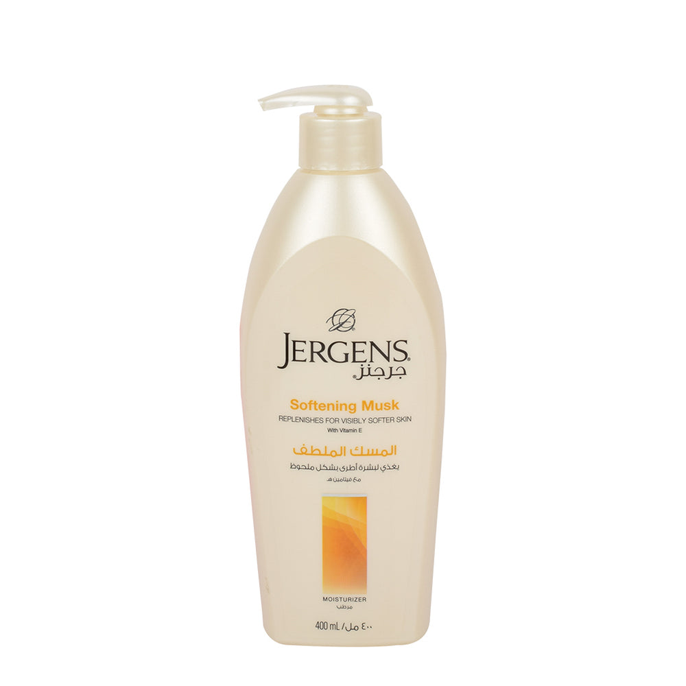 Jergens Softening Musk Lotion 400Ml