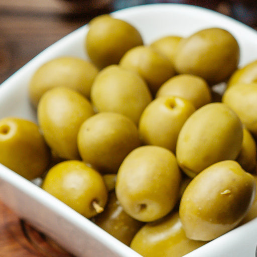 Green Olives Whole 500Grm approx