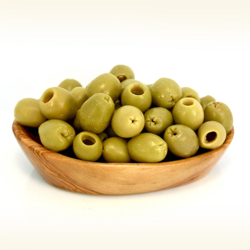 Pitted Green Olives 500Grm approx
