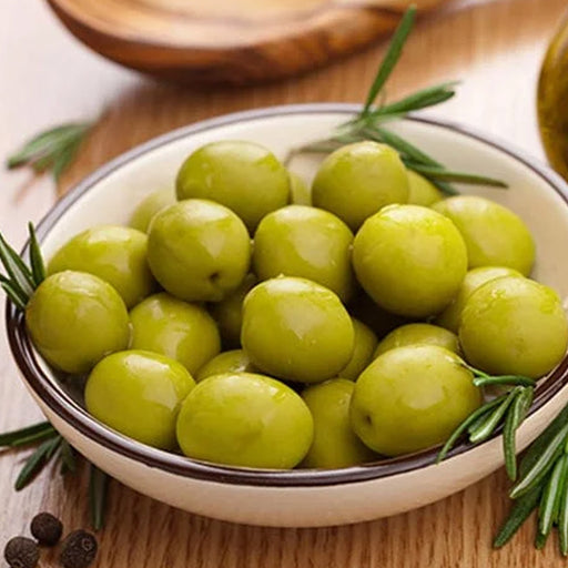 Green Olives Plain 500Grm approx