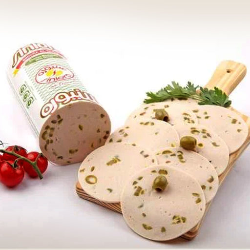 Siniora Chicken Mortadella Olive 250grm Approx