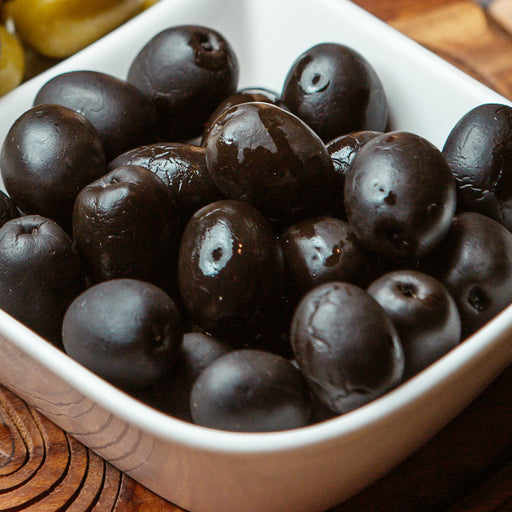 Black Olives Whole 250grm Approx