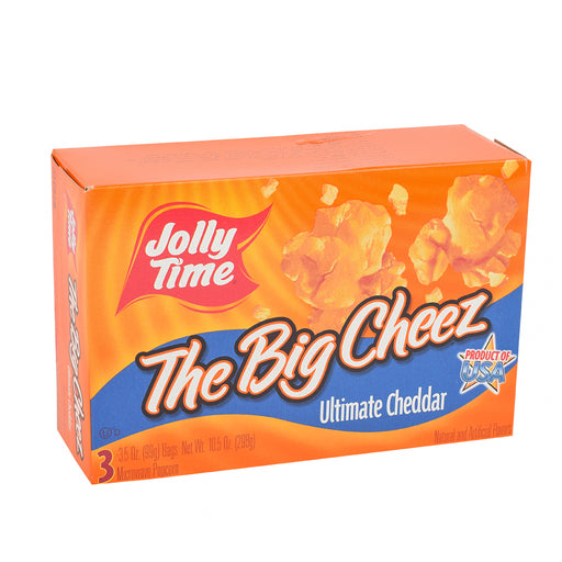Jollytime Microwave Popcorn Cheese 10.5Oz