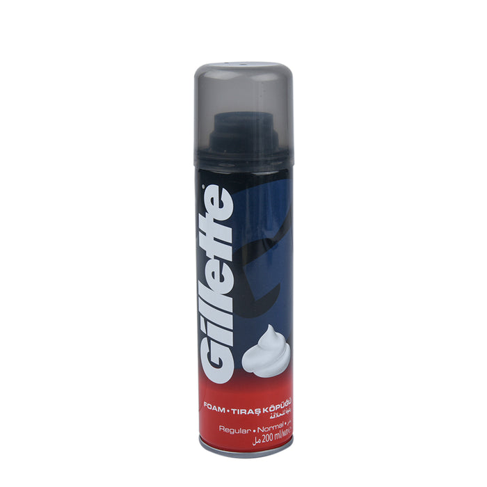 Gillette  Shaving Foam Regular 200Ml