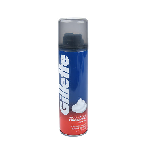 Gillette Shaving Foam Classic Clean 200Ml