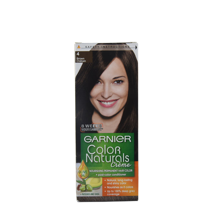 Garnier Hair Color Naturals #4 Brown