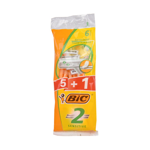 Bic Sensitive Disp. Shaver 5+1''S