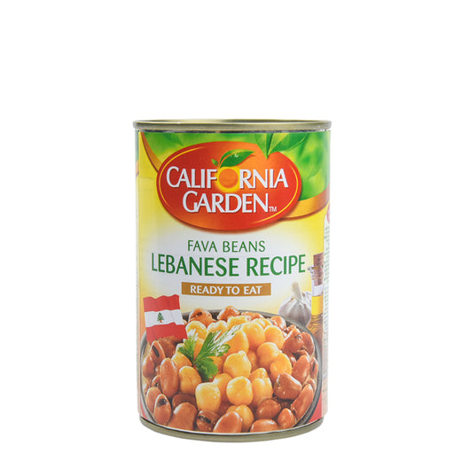 California Garden Fava Beans Lebanese Recipe 450gm