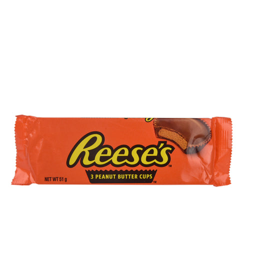 Hershey's Reese's Peanut Butter 3Cups 51gm