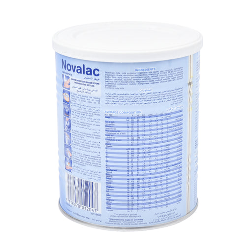 Novalac Stage 1 Infant Formula Milk 400Grm
