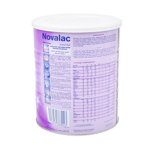 Novalac Stage 2 Infant Follow On Milk 800Grm