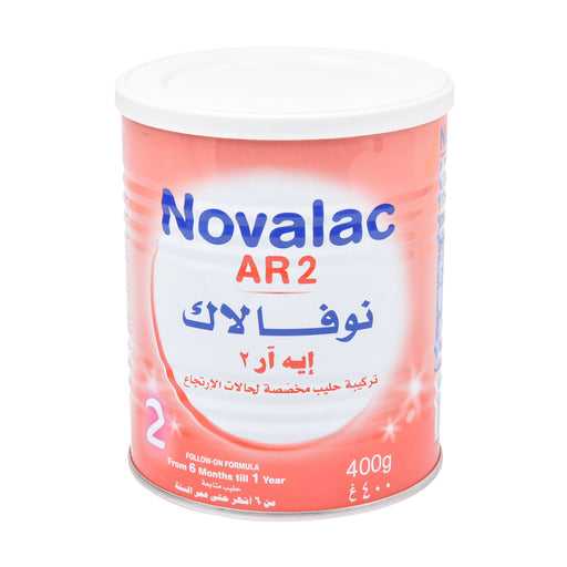 Novalac Stage 2 Infant Follow On Milk Anti Regurgitation 400Grm