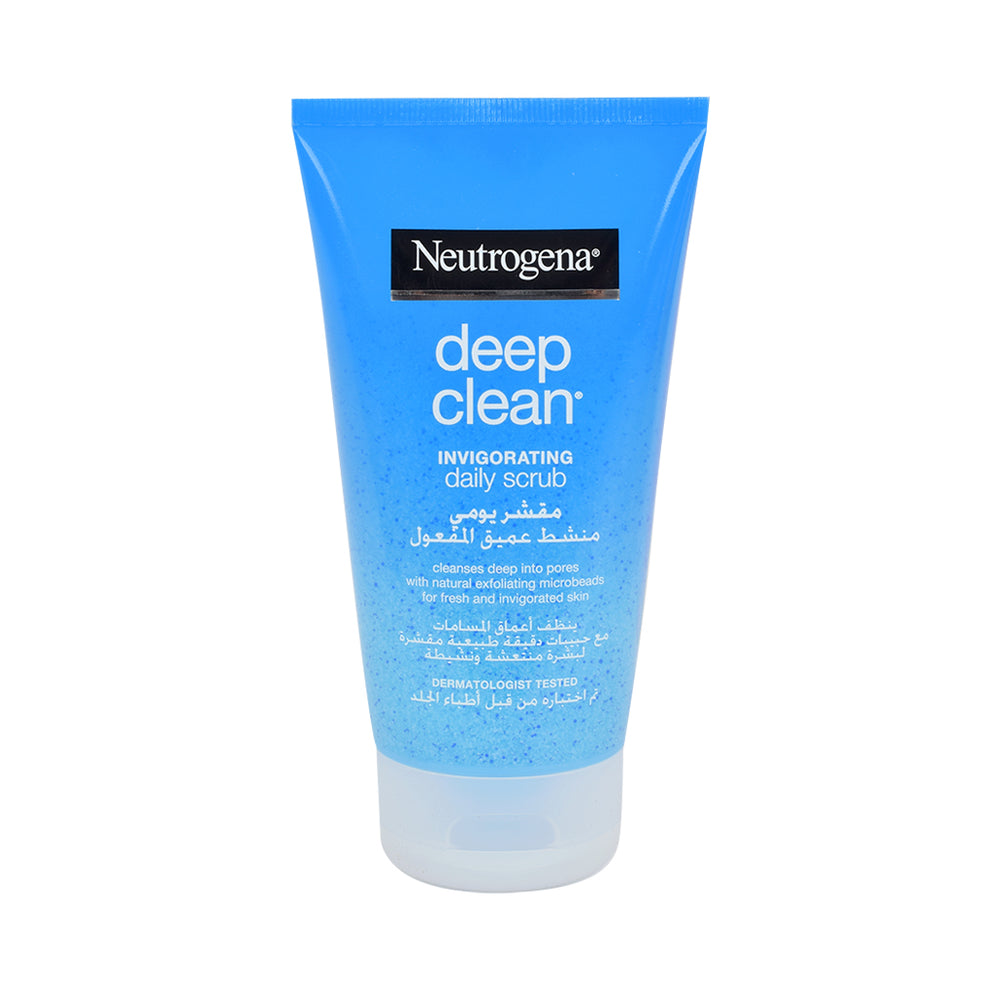 Neutrogena Deep Clean Invigo Daily Scrub 150Ml