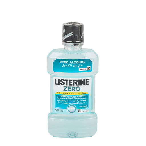 Listerine Mouth Wash Zero Mild 250ml