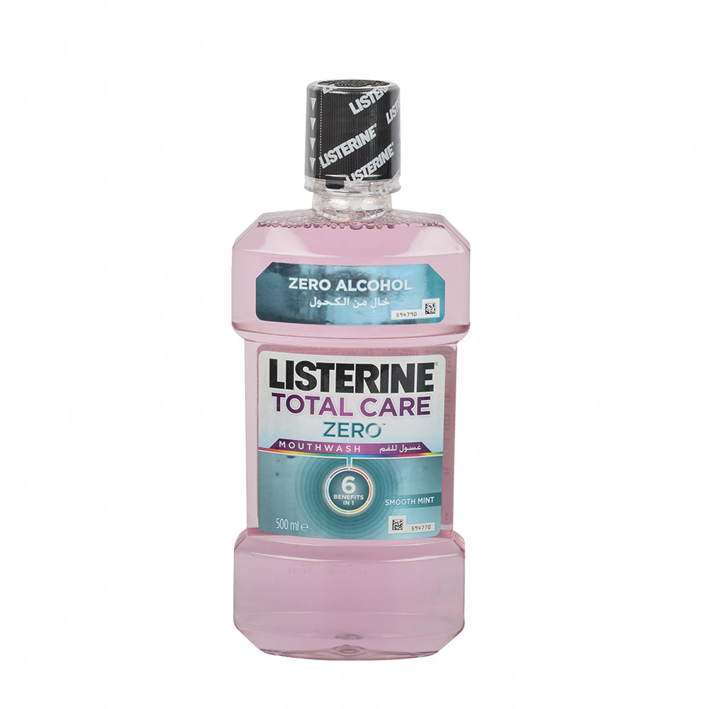 Listerin Mouth Wash Zero Total Care 500Ml