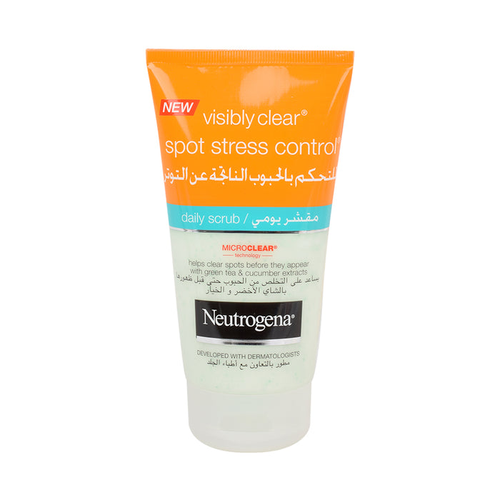 Neutrgna Visbly Clear Spot Stress Scrub 150Ml