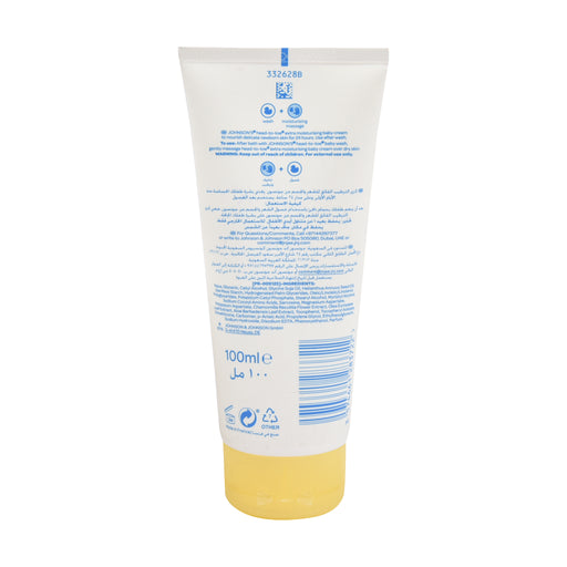Johnson'S Baby Moisturizing  Cream Head To Toe 100 Ml