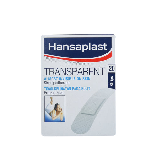 Hansaplast Transparent Strips 20''S