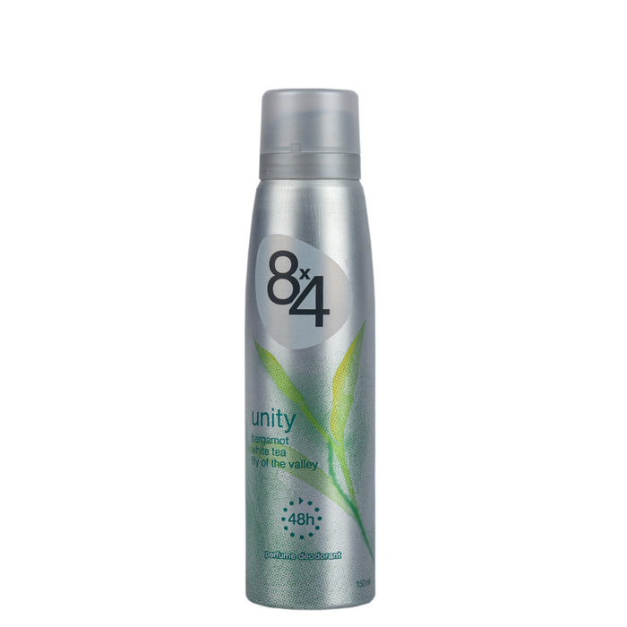 8X4 Deo Spray Unity 150Ml