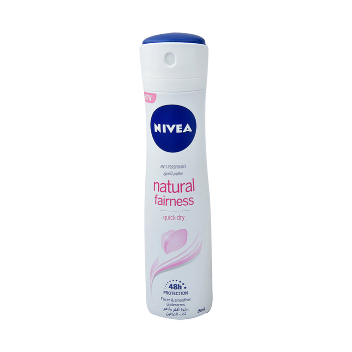Nivea Natl Fairness   Antiperstpirant  Deo Spary 150Ml