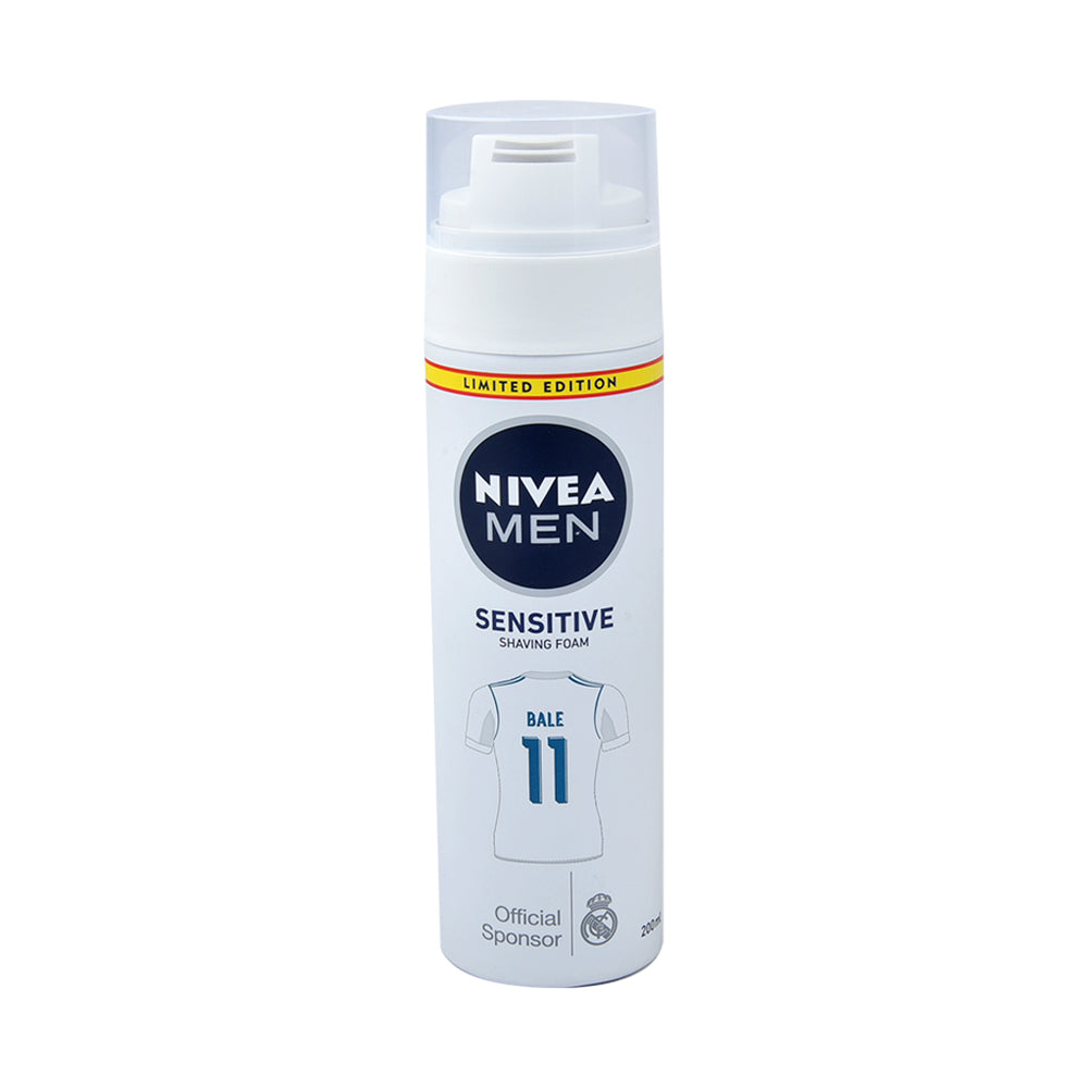 Nivea Shave Foam Sensitive Skin 200Ml