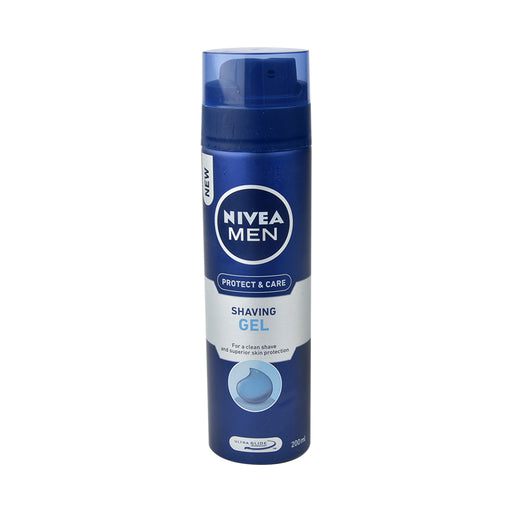 Nivea Shaving Gel Moist 200Ml