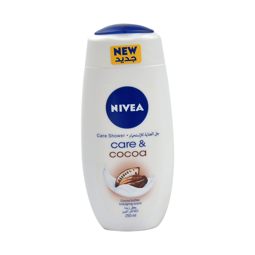 Nivea Shower Care & Cocoa 250Ml