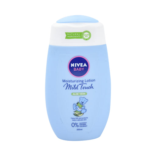 Nivea Baby Moisturizing Lotion Mild Touch 200 Ml