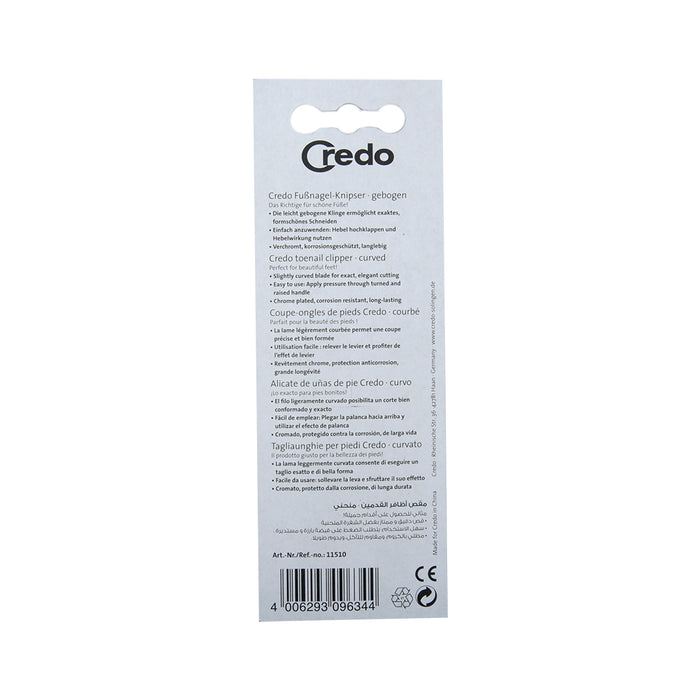 Credo Nail Clipper Blister 82Mm