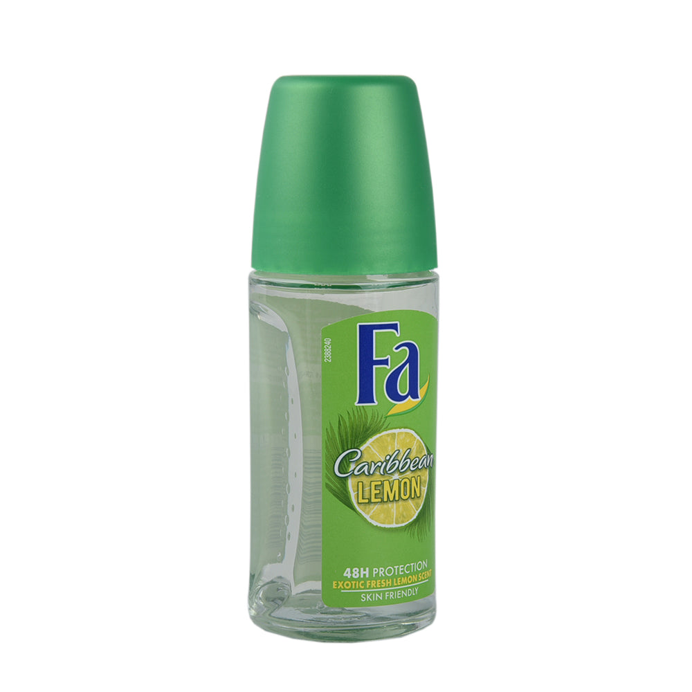 Fa Deo Roll On Caribbean Lime 50Ml