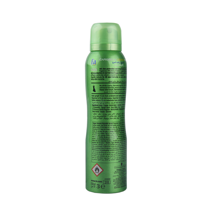 Fa Deo Spray Caribbean Lemon 150Ml
