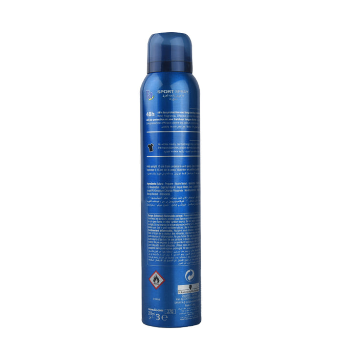 Fa Deo Spray Sport Energising 200Ml