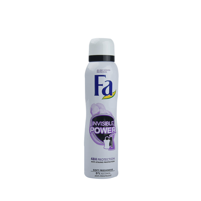 Fa Deo Spray Invisible Power Soft Freshness 150 Ml