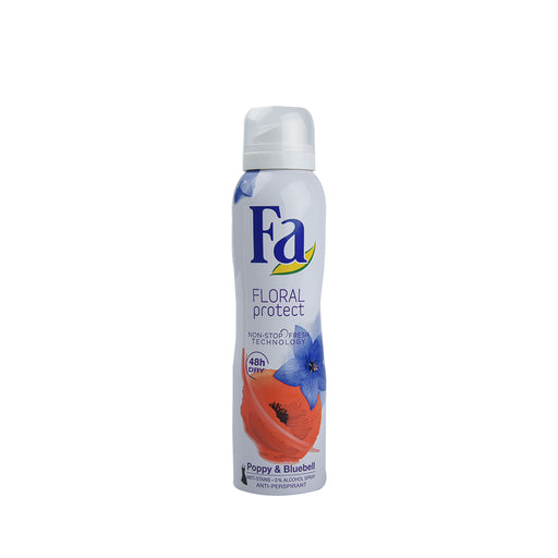Fa Deo Spray Floral Popy&Bluebell 150Ml