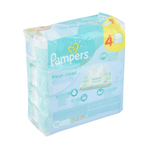 Pampers Baby Wipes Refill 64'S 3+1