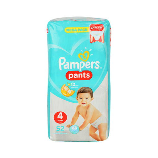 Pampers Diapers Pants S4  Jumbo Pack Maxi 52'S