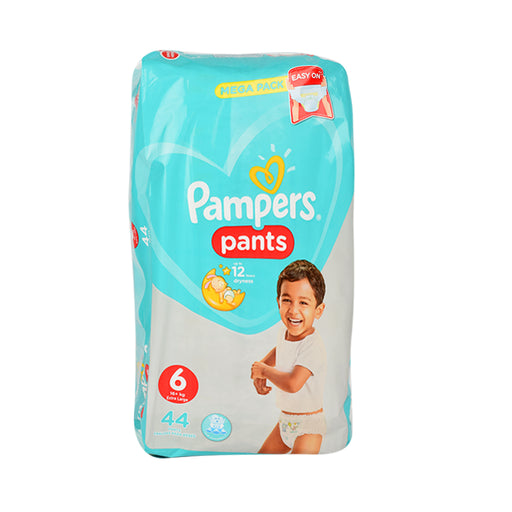 Pampers Diapers Pants S6 Jumbo Pack Extra Large44'S