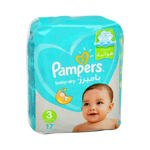 Pampers Diapers S3 Active Baby Carry Pack 17'S