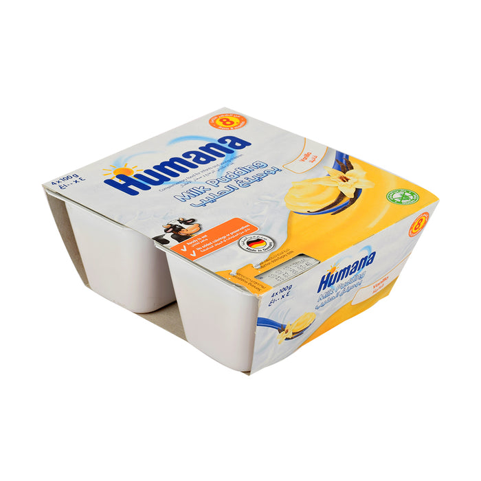Humana Baby Pudding Vanilla 400Gm X 4 Pieces