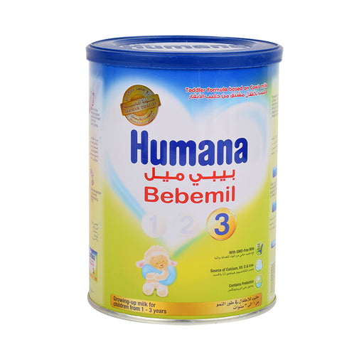 Humana Bebemil Stage 3 Grow On Milk Powder 400Grm