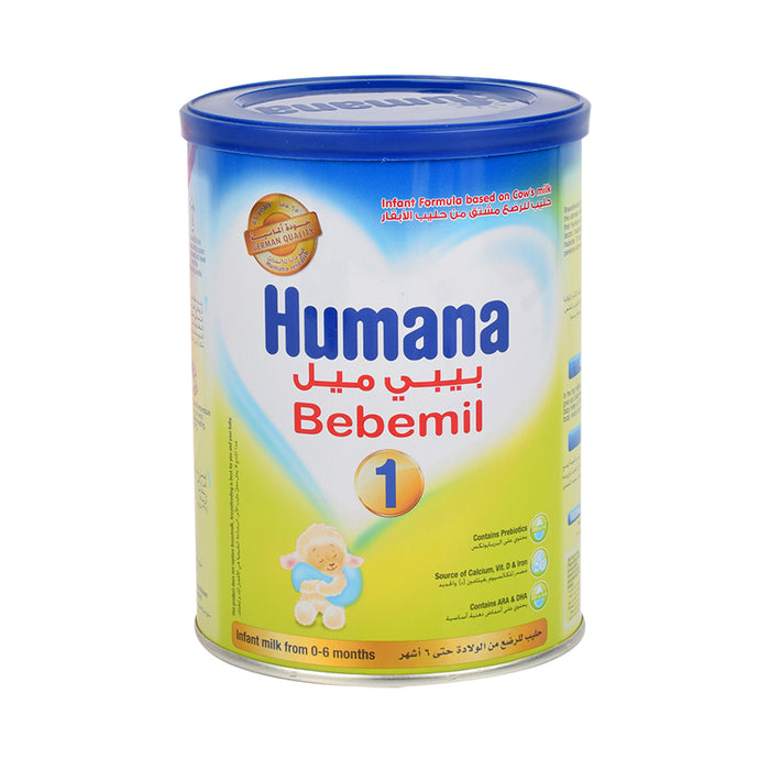 Humana Bebemil Stage 1 Infant Formula Milk Powder 400Grm