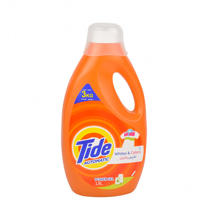 Tide Matic Power Gel Whites&Colors 1.8Ltr
