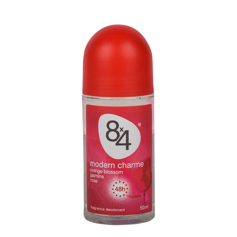 8X4 Deo Roll-On Modern Charme 50Ml