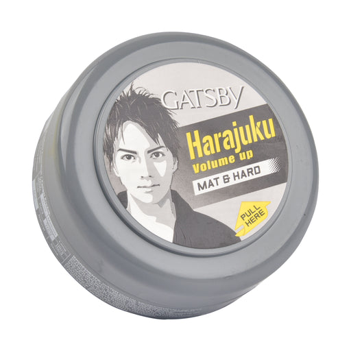 Gatsby Styling Wax Mat&Hard-Gray 75Gm