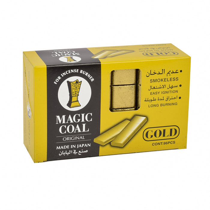 MAGIC Gold Coal For Incense Burner 96''S