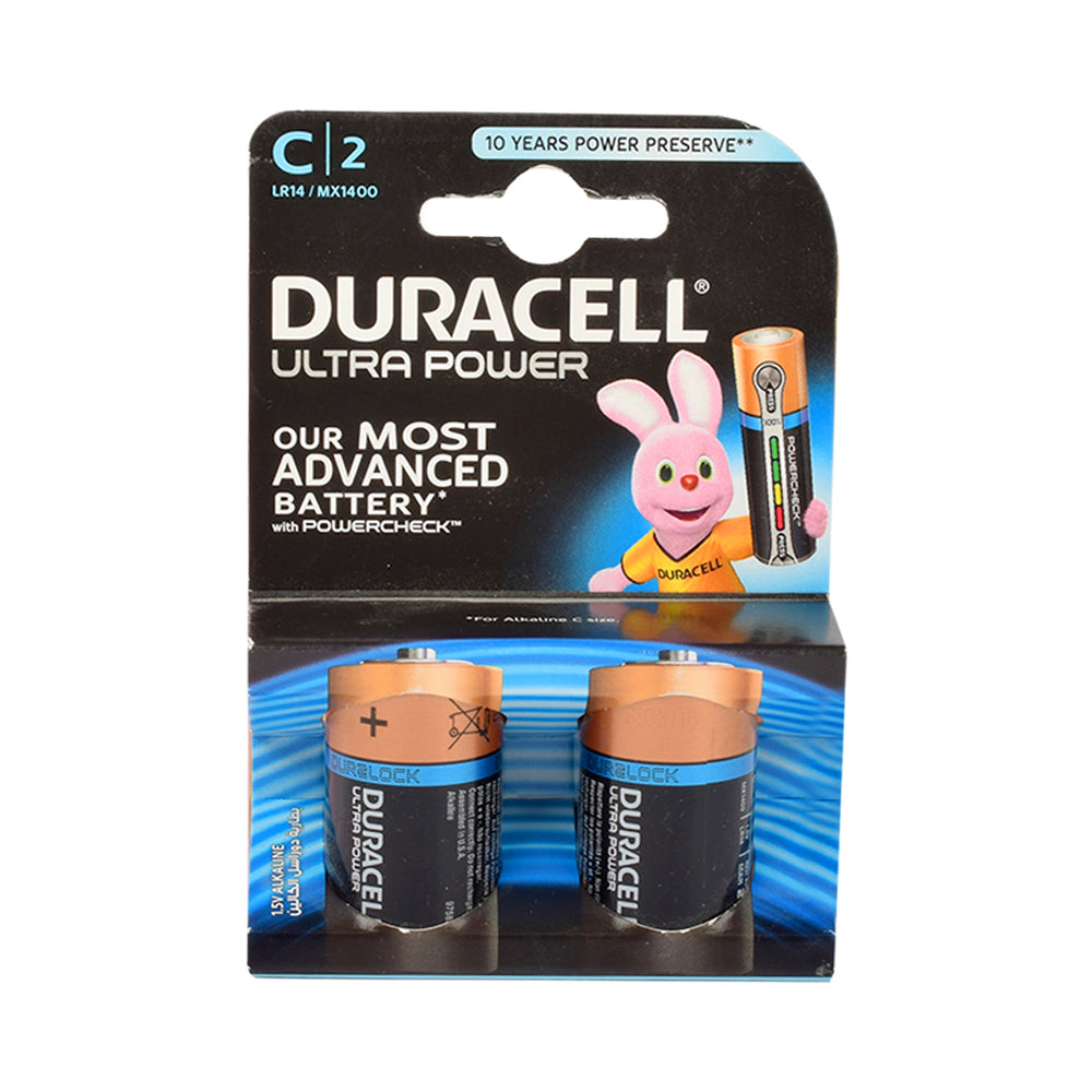 DURACELL Battery Ultrapower C 2''S