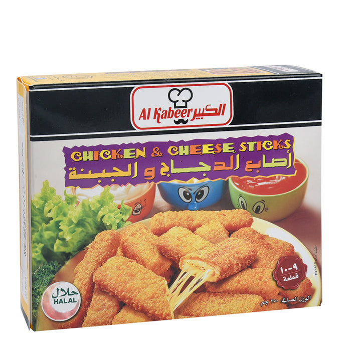 Al Kabeer Chicken & Cheese Sticks 250gm