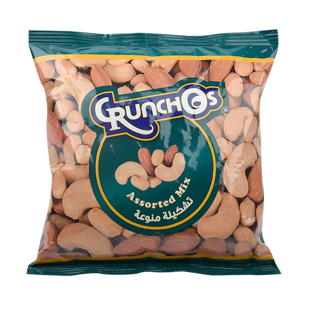 Crunchos Assorted Mixed Nuts Pouch 300gm