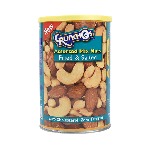 Crunchos Assorted Mix Nuts Fried&Salted 350g
